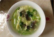 青瓜海参鸡蛋汤的做法