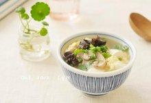 豆腐菌菇海参汤